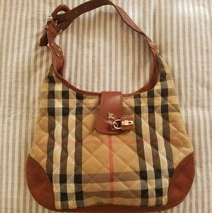 BURBERRY Brooke quilted shoulder bag